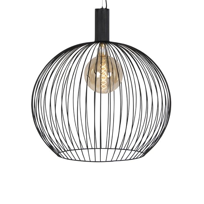 Design-hanglamp-rond-zwart-70-cm---Dos
