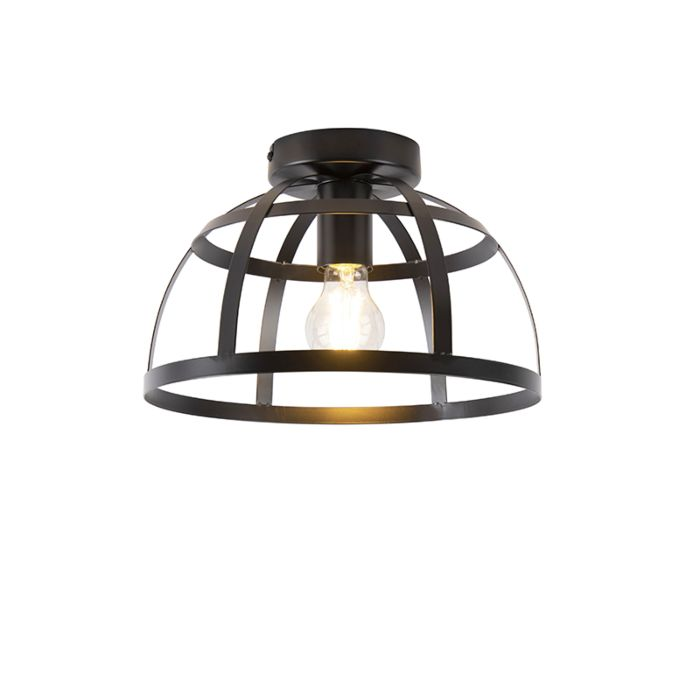 Industriële-plafondlamp-zwart---Boula