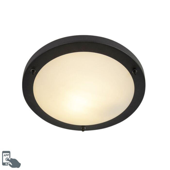 Smart-plafonnière-zwart-incl.-WiFi-A60-IP44---Yuma-31