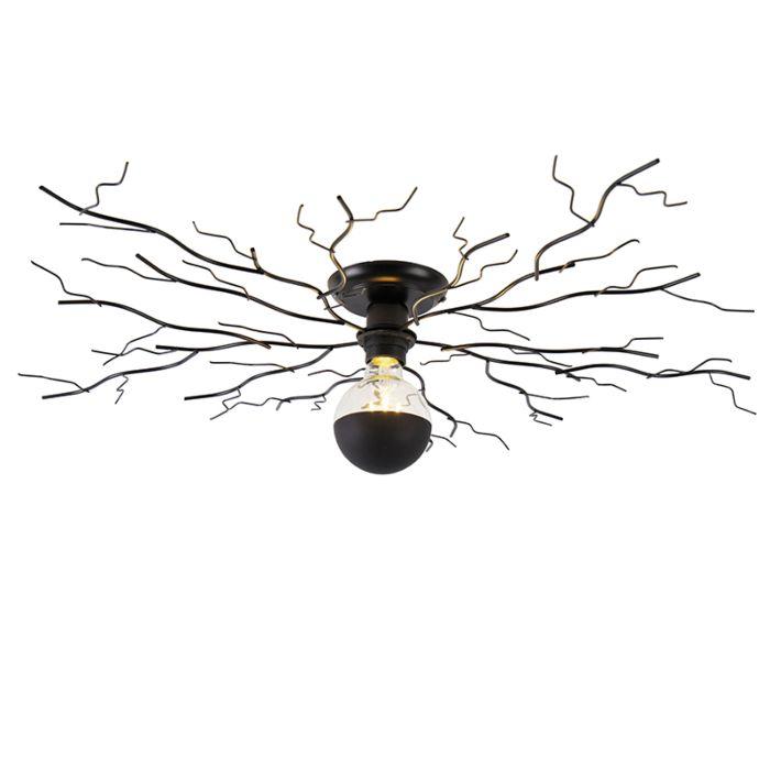 Art-Deco-plafondlamp-zwart-80-cm---Ramuri