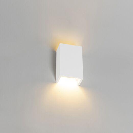 Moderne-wandlamp-wit---Colja-Novo
