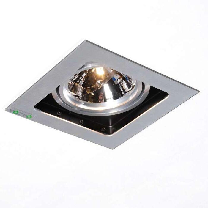 Inbouwspot-Qure-1-aluminium