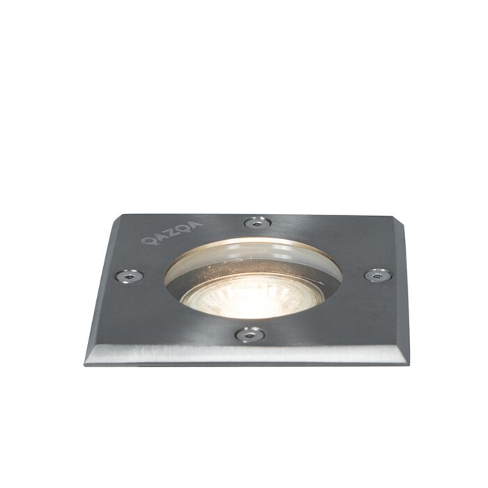 Grondspot-staal-10,5-cm-IP65---Basic-Square