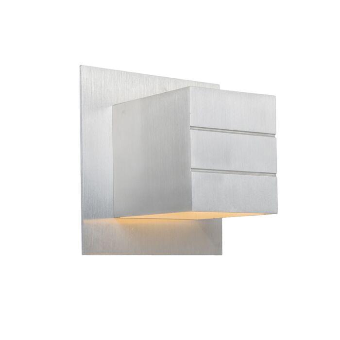 Moderne-wandlamp-aluminium---Ypsilon