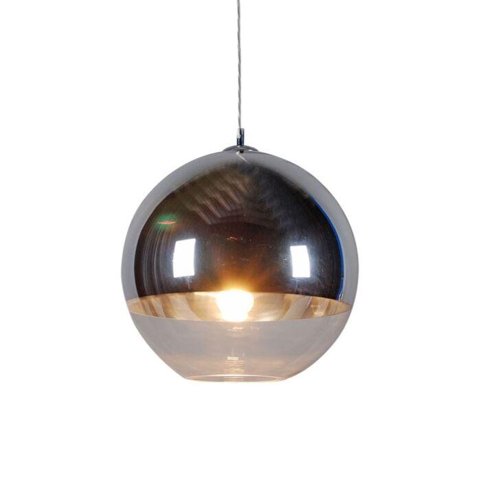 Hanglamp-Ball-40-silver
