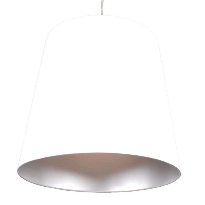 Hanglamp-Shade-wit-zilver