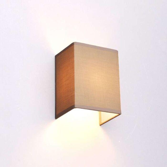 Landelijke-wandlamp-beige---Vete