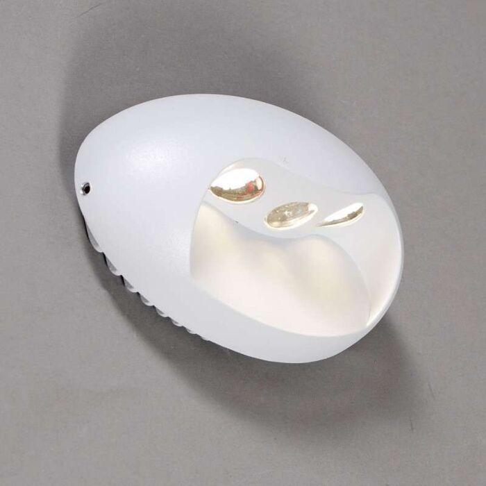 Wandlamp-Pole-LED-wit