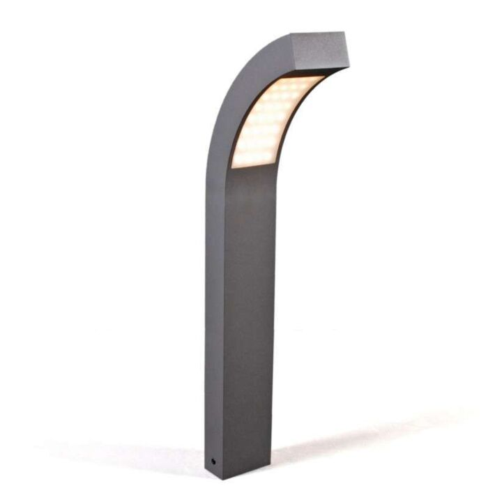 Buitenlamp-Sweden-LED-P60-grafiet