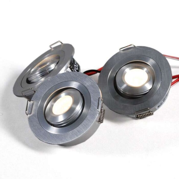 Lumiled-inbouwset-van-3-x-1W-aluminium