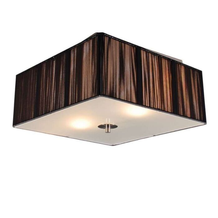 Plafondlamp-Rope-vierkant-35-antraciet
