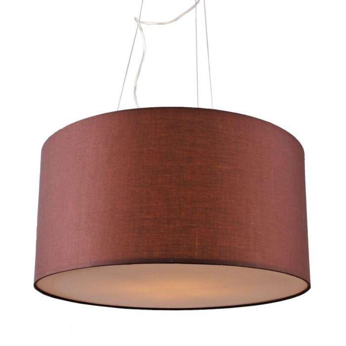 Hanglamp-Drum-60-bruin