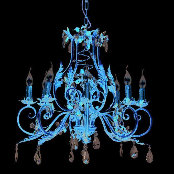Kroonluchter-Sissy-8-lichts-antiek-goud