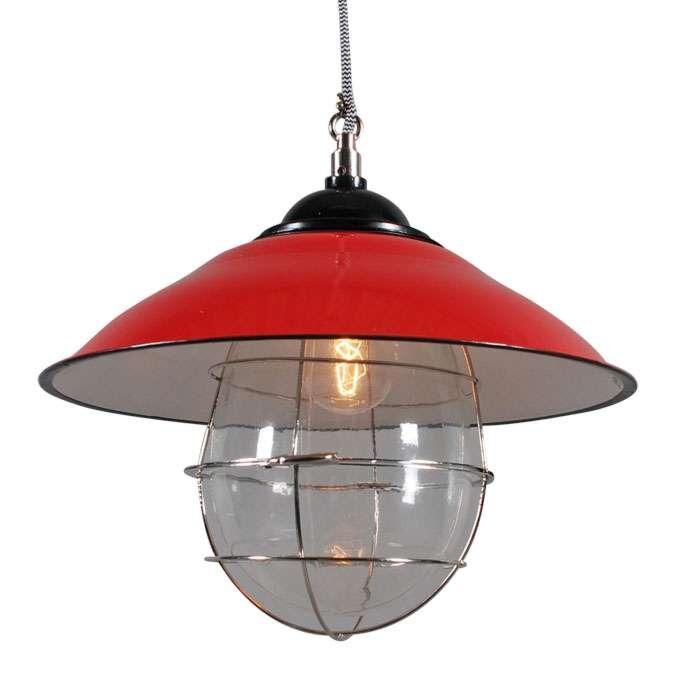 Hanglamp-Skipper-rood