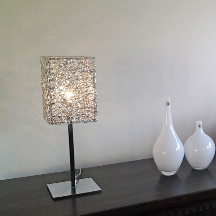 Tafellamp-Draht-Square-L-aluminium