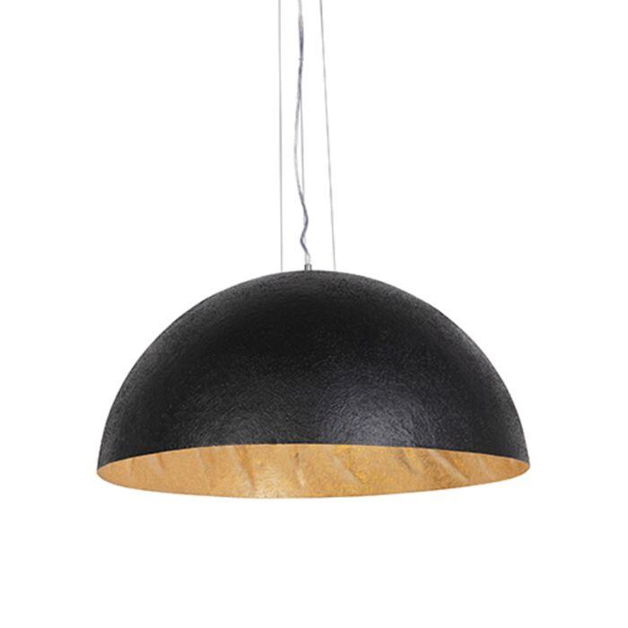 Industriële-hanglamp-zwart-met-goud-70-cm---Magna