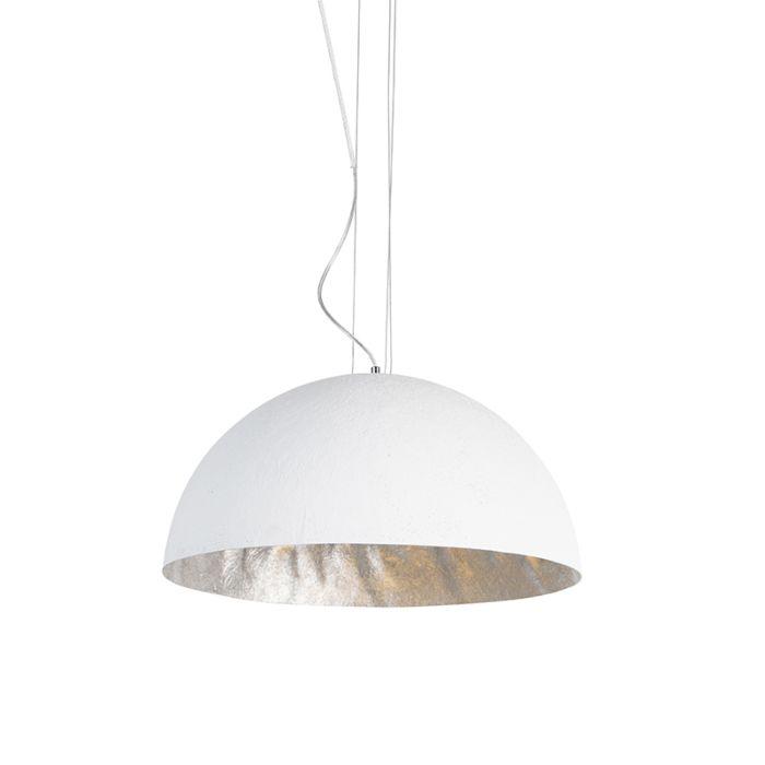 Moderne-hanglamp-wit-50-cm---Magna
