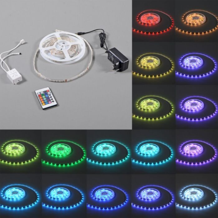 Flexibele-RGB-LED-strip-IP65-3mtr-set