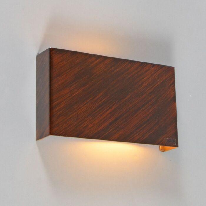 Wandlamp-Otan-roestbruin