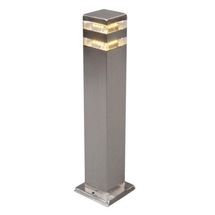 Buitenlamp-Satin-Square-50cm-staal-met-LED
