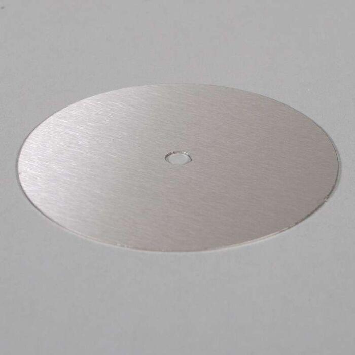 Opvulring-ø13cm-RVS-met-kabeldoorvoer-(montagegaten-zelf-toevoegen)