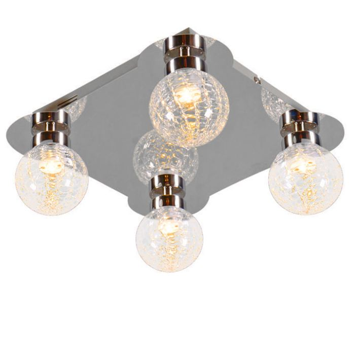 Plafonniere-Ice-4-LED-chroom
