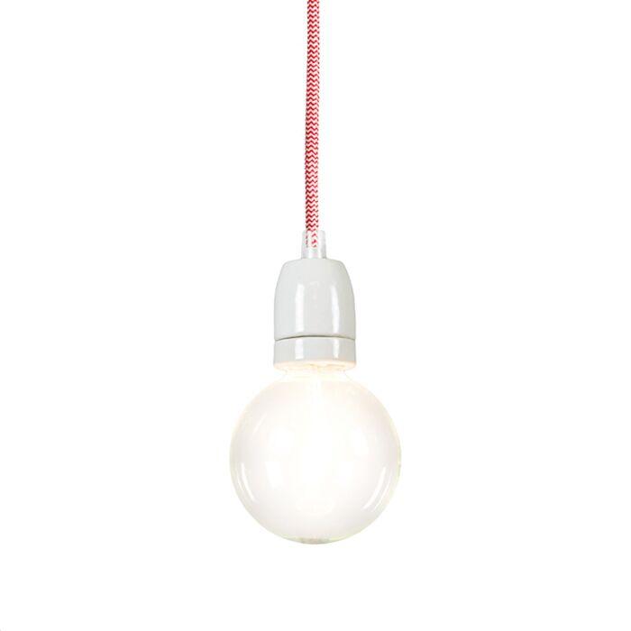 Hanglamp-Cavo-rood-wit