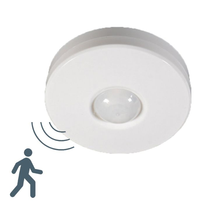 PIR-bewegingsmelder-plafond-opbouw-wit