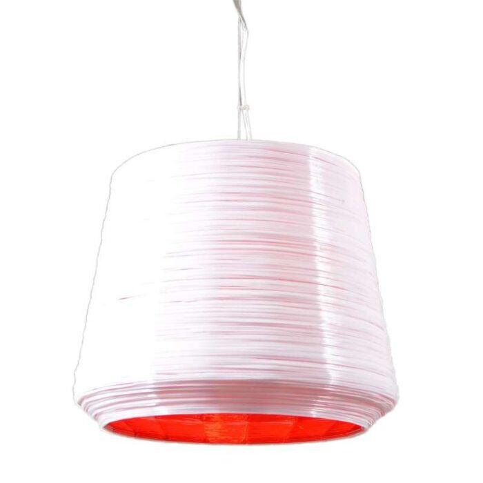 Hanglamp-Como-38-wit-met-rood