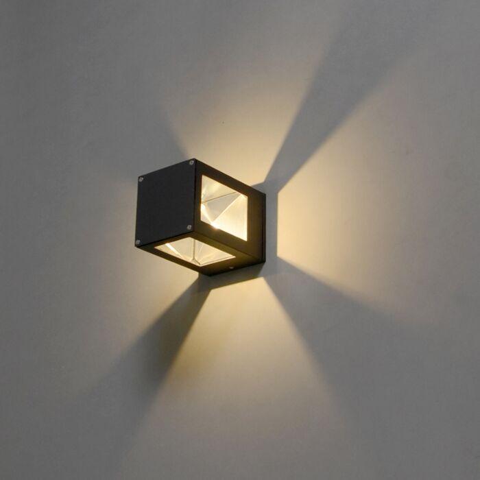 Wandlamp-Giro-donker-grijs