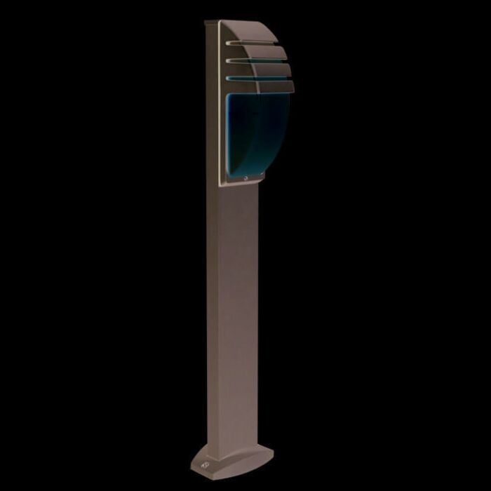 Buitenlamp-paal-100cm-City-grijs