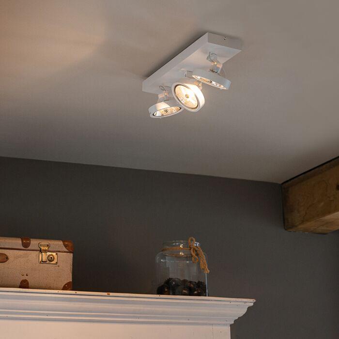 Design-spot-wit-verstelbaar-3-lichts-incl.-3-x-G9---Go