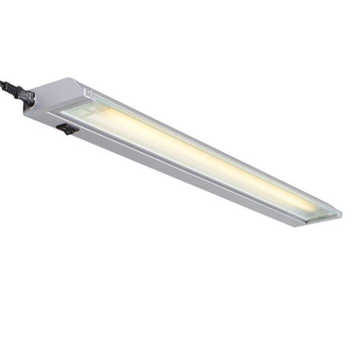 TL-armatuur-Luxline-13W-zilvergrijs