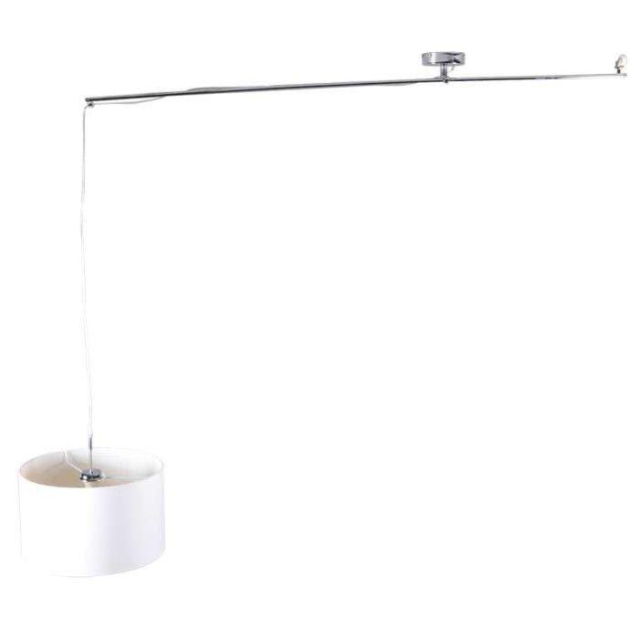 Hanglamp-Decentra-Delux-chroom-met-kap