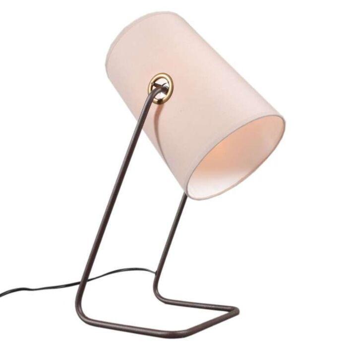 Tafellamp-Benzina-bruin-beige