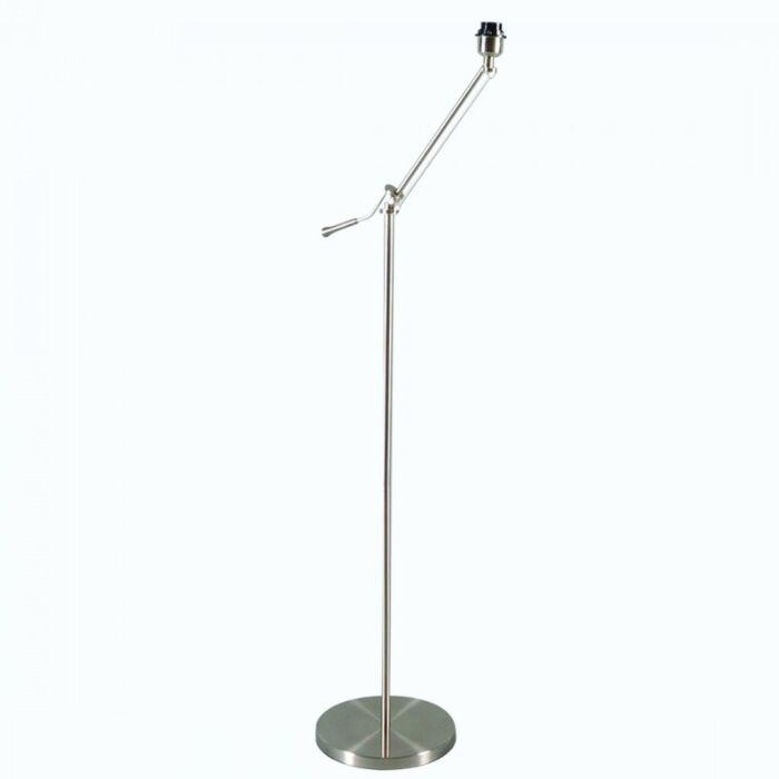 Vloerlamp-Luzzi-staal-zonder-kap