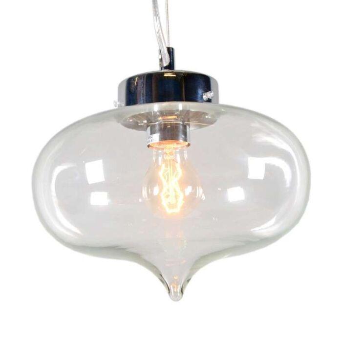 Hanglamp-Bibione-helder-glas