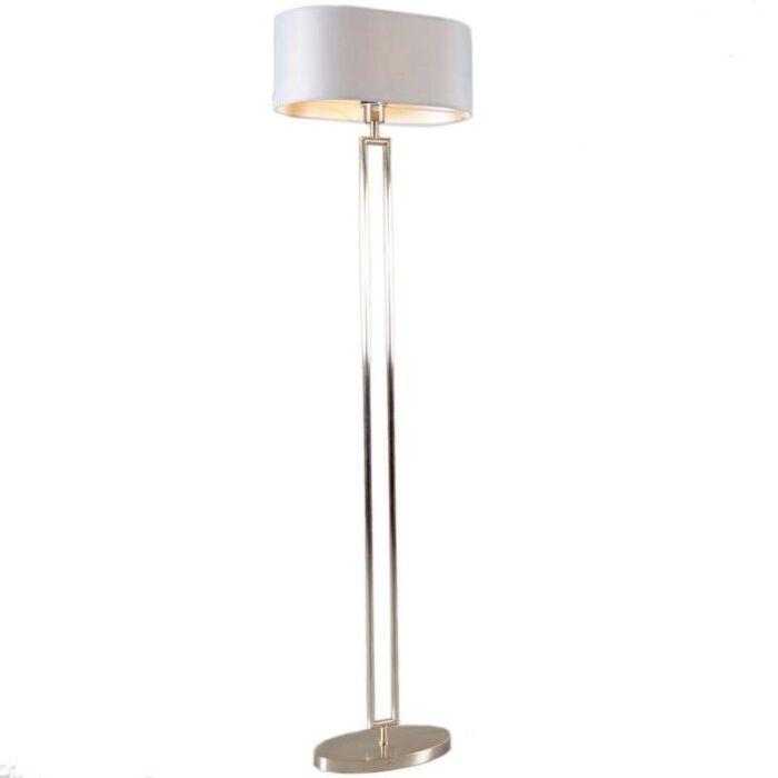 Vloerlamp-Zadar-staal-met-ovale-kap-grijs