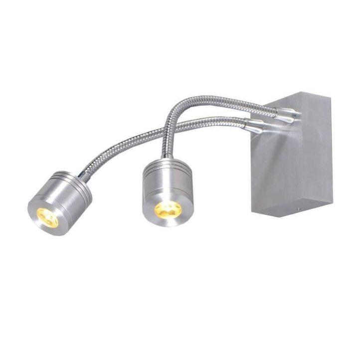 Wandlamp-Yet-2-aluminium