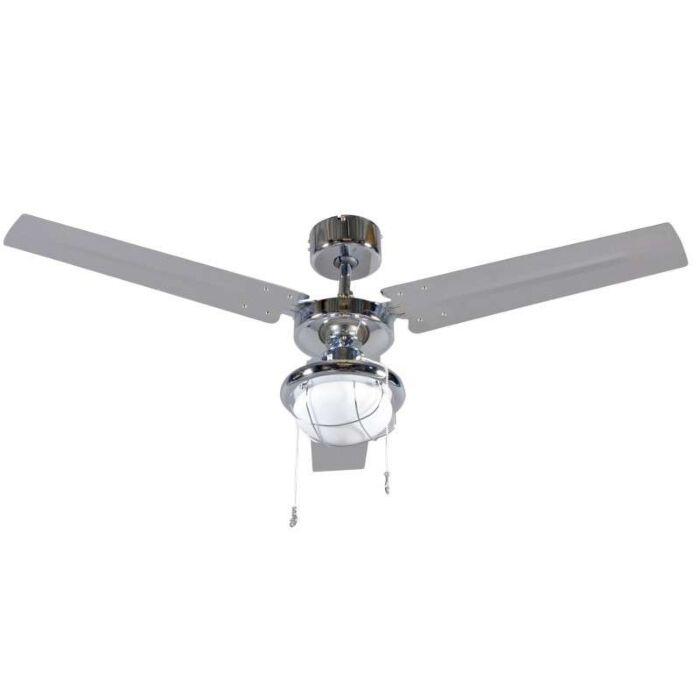 Plafondventilator-Tail-48-chroom