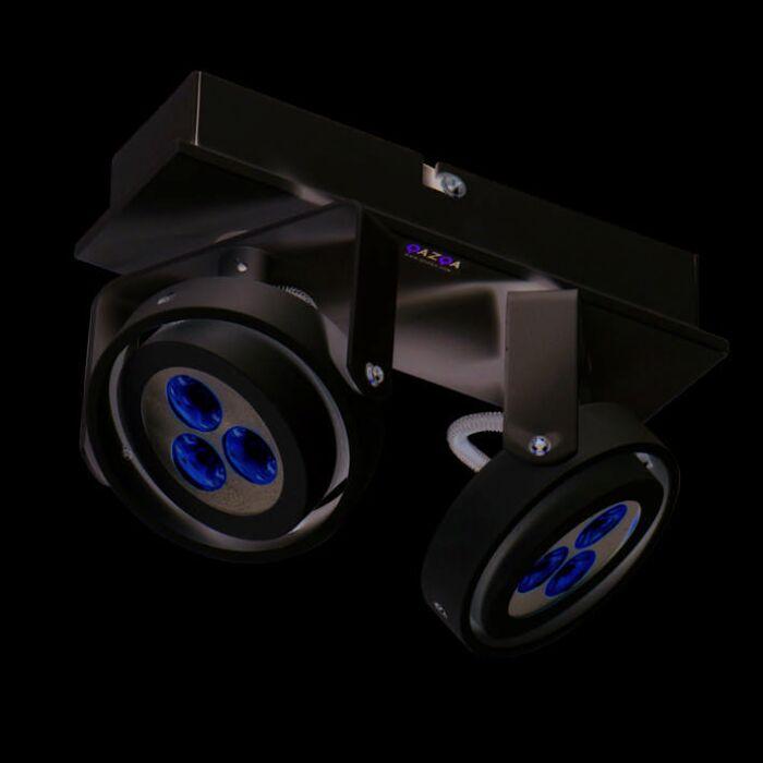 Spot-Keoni-2-LED-wit