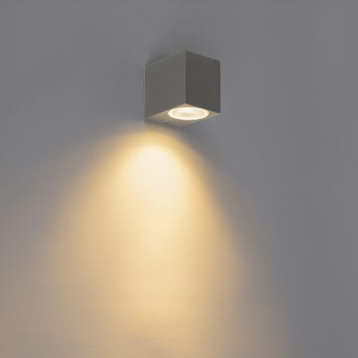 Moderne-wandlamp-antraciet-IP44---Baleno-I
