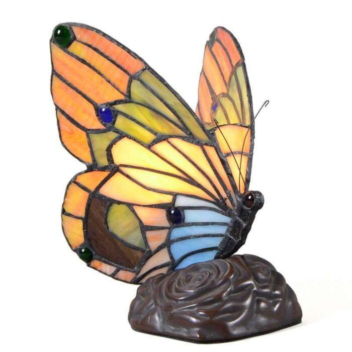 Tiffany-tafellamp-Butterfly