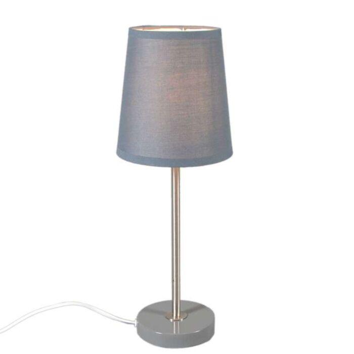 Tafellamp-Notte-grijs