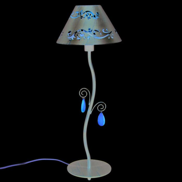 Tafellamp-Verona-antiek-bruin