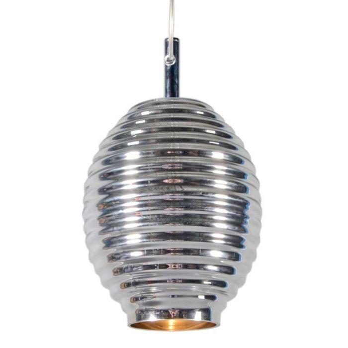 Hanglamp-Treviso-IV-chroom-glas