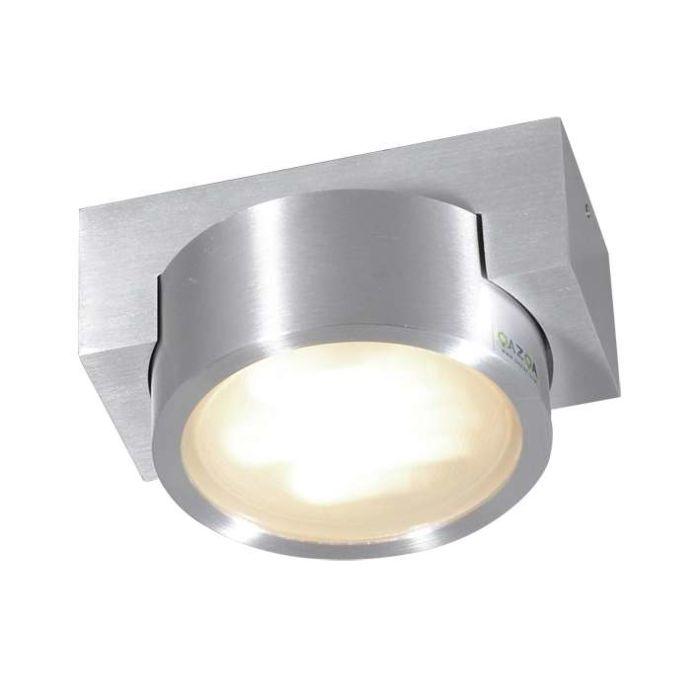 Plafonniere-Topaz-aluminium