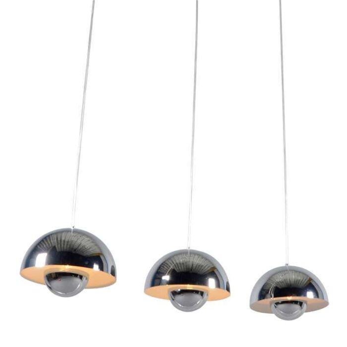 Hanglamp-Elx-3-Chroom