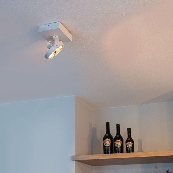Design-spot-wit-verstelbaar-1-lichts-incl.-1-x-G9---Go