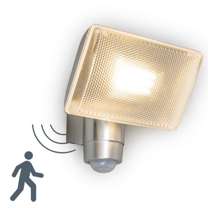 LED-straler-VAP-Delux-met-bewegingsmelder-aluminium